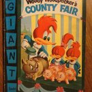 Dell Giant comic Woody Woodpecker's County Fair #5 (1956) comic book, VG, Chilly Willy