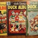 Dell Four (4) Color Disney Donald Duck Album #611, 649, 686, 726, 782, 1182 comic books, 1950's