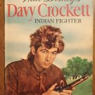 Dell Four (4) Color - Davy Crockett Indian Fighter #631 comic book, (1955) Fess Parker, photo cover