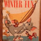 Dell Giant comic - Tom and Jerry&#39;s Winter Fun #3 (1954) comic book, Fair, Droopy, Spike & Tyke