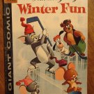 Dell Giant comic - Tom and Jerry's Winter Fun #7 (1958) comic book, G/VG, Droopy, Spike & Tyke