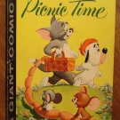 Dell Giant comic - Tom and Jerry's Picnic Time #1 (1958) comic book, VG/Fine, Droopy, Spike & Tyke
