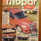 Mopar Collector's Guide magazine August 2000 - 325 HP PT Cruiser, 1971 Hemicuda convertible, 62 Dart