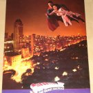 Superman IV (4) Quest for Peace movie poster, 17x22, never displayed, rolled, Christopher Reeve