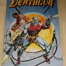 Marvel comics Deathlok poster, 22x34, rolled, never displayed
