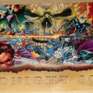 Marvel comics The Midnight Sons poster, 22x34, rolled, never displayed