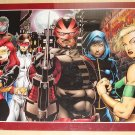 Marvel comics The New Warriors poster, 22x34, rolled, never displayed