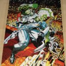 Image comics The Savage Dragon & Shadowhawk poster, 22x34, rolled, never displayed