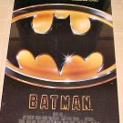 Batman (1989) glossy movie poster, full size, never displayed, rolled, Michael Keaton