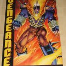 Marvel Comics Vengeance poster, 23x34, rolled, never displayed, Ghost Rider
