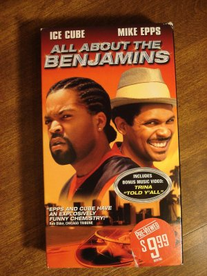 All About the Benjamins VHS video tape movie film, Ice ...