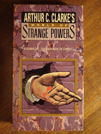 Arthur C. Clarke's World of Strange powers VHS video tape, Stigmata - The wounds of Christ