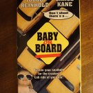Baby on Board VHS video tape movie film, Judge Reinhold, Carol Kane, BOX VARIANT