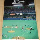 1987 I'm Sold On St. Louis poster, never displayed, rolled, Cardinals Expos MLB pennant