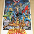 Marvel comics Guardians of the Galaxy poster, 22x34, rolled, never displayed