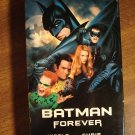 Batman Forever VHS video tape movie film, Val Kilmer, Jim Carrey Tommy Lee Jones