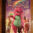Barney's Great Adventure: The Movie VHS video tape movie film, giant pink/purple dinosaur
