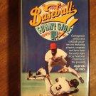 Baseball: Funny Side Up! VHS video tape movie film, MLB goofs, Tug McGraw, Mel Allen
