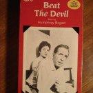 Beat the Devil VHS video tape movie film, Humphrey Bogart, Jennifer Jones