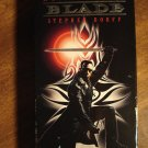 Blade VHS video tape movie film, Wesley Snipes, vampires, undead, Kris Kristofferson