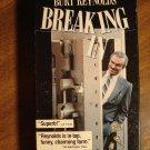 Breaking In VHS video tape movie film, Burt Reynolds, Casey Siemaszko