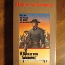 A Bullet for Sandoval VHS video tape movie film, Ernest Borgnine, George Hilton, Leo Anchoriz