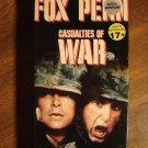 Casualties of War VHS video tape movie film, Michael J. Fox, Sean Penn