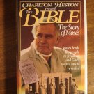 Charleton Heston presents The Bible: The Story of Moses VHS video tape movie film