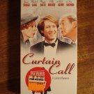 Curtain Call VHS video tape movie film, James Spader, Michael Caine, Buck Henry