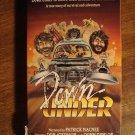 Down Under VHS video tape movie film, gold prospecting in Australia