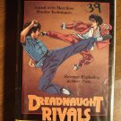 Dreadnaught Rivals VHS video tape movie film, martial arts fights & mayhem