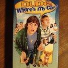Dude, where's My Car VHS video tape movie film, Ashton Kutcher, Seann William Scott