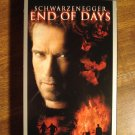 End of Days VHS video tape movie film, Arnold Schwarzenegger, Kevin Pollack
