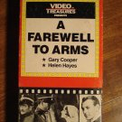 A Farewell to Arms VHS video tape movie film, Gary Cooper, Helen hayes