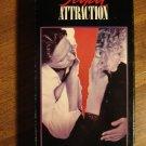 Fatal Attraction VHS video tape movie film, Michael Douglas, Glenn Close, Anne Archer