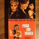 Frogs For Snakes VHS video tape movie film, Barbara Hershey, Harry Hamlin, Lisa Marie