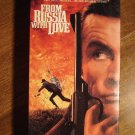 From Russia With Love VHS video tape movie film, James Bond 007, Sean Connery