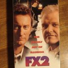 FX2 VHS video tape movie film, Brian Dennehy, Bryan Brown, special effects