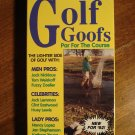 Golf Goofs VHS video tape movie film, Jack Nicklaus, Clint Eastwood, Huey Lewis