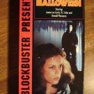 Halloween VHS video tape movie film, Jamie Lee Curtis, Donald Pleasance