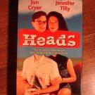 Heads VHS video tape movie film, Jon Cryor, jennifer Tilly