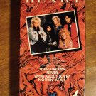 Heart VHS MUSIC video tape movie film, 4 different music videos
