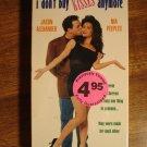I Don't Buy Kisses Anymore VHS video tape movie film, Jason Alexander, Nia Peebles