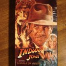 Indiana Jones & The Temple of Doom VHS video tape movie film, Harrison Ford, Kate Capshaw