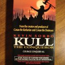 Kull The Conqueror VHS video tape movie film, Kevin Sorbo, Tia Carrere, Karina Lombard