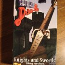 Knights & Swords: King Arthur The Young Warlord, The Magic Sword VHS video tape movie film 2 tapes