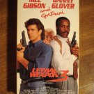 Lethal Weapon 3 VHS video tape movie film, Mel Gibson, Danny Glover, Joe Pesci
