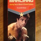 Marciano VHS video tape movie film, Rocky, Tony Lo Bianco, Vincent Gardenia