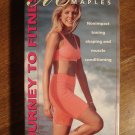 Marla Maples Journey To Fitness exercise workout VHS video tape movie film non impact shaping toning