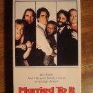 Married To It VHS video tape movie film, Beau Bridges, Stockard Channing, Cybill Shepherd